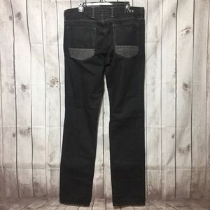 Gap Skinny Jeans 36x36 Gray Two-Tone Button Fly
